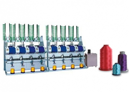Automatic Bonded Yarn Cross Cone Winder(4 Spindles)