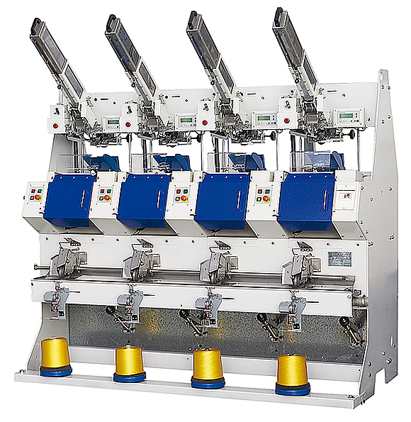 Automatic Sewing Thread Cross Cone Winder(4 Spindles)(for cylinde